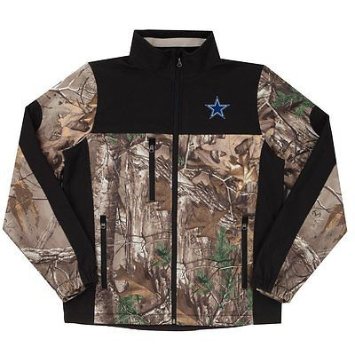 new arrival 0c93a f24bc NFL Dallas Cowboys Hunter Camoflauge Colorblock Softshell ...