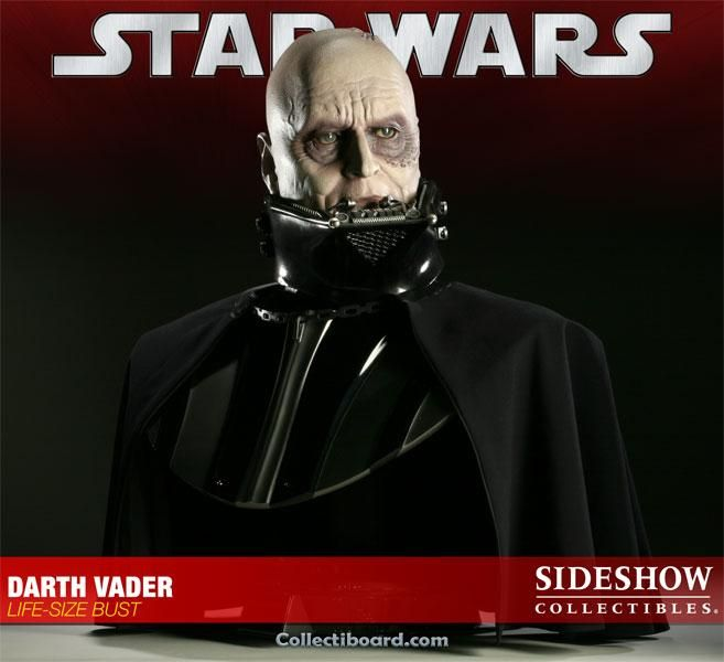 Star Wars Darth Vader Life Size Bust Sideshow Collectibles Darth Vader Star Wars Darth Vader Sideshow Collectibles