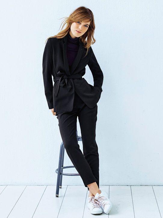 Veste tailleur femme sport