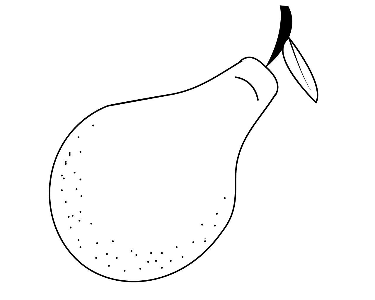 Pear Fruits Coloring Pages Fruit Coloring Pages Coloring Pages
