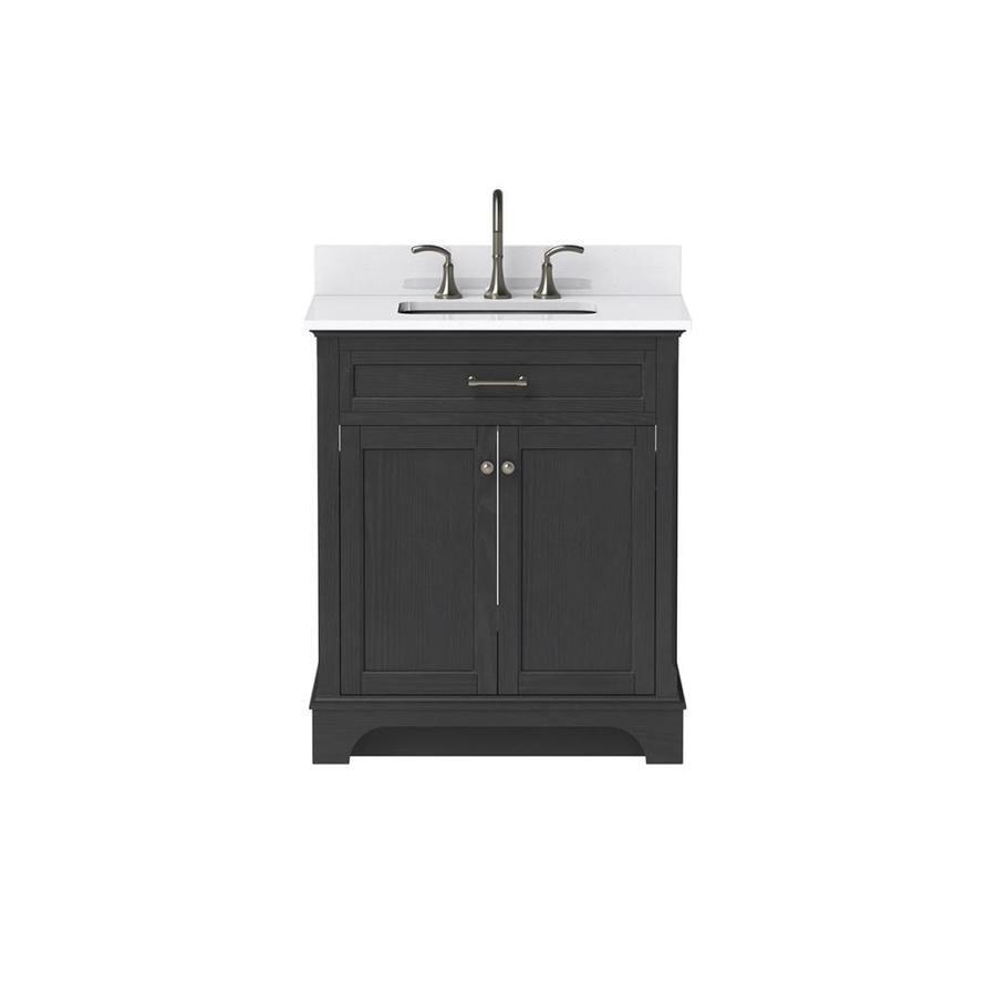Scott Living Roveland Black Oak 30 0 Undermount Single Sink