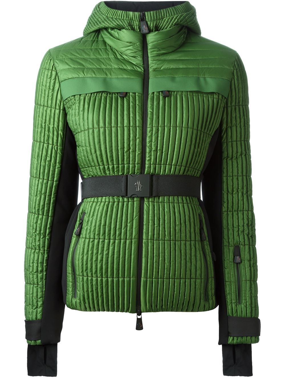 Belted Moncler Padded Grenoble jacket Hooded JacketWinter lcuF3TJK1