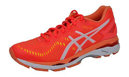 los angeles 47739 bbafb ASICS Womens Gel-Kayano 23 Running Shoe, Pink/White/Coral ...