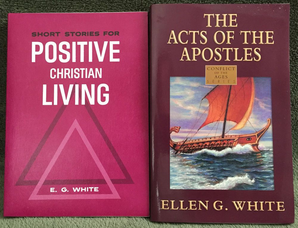 Ellen G White Duo The Acts Of The Apostles Positve Christian