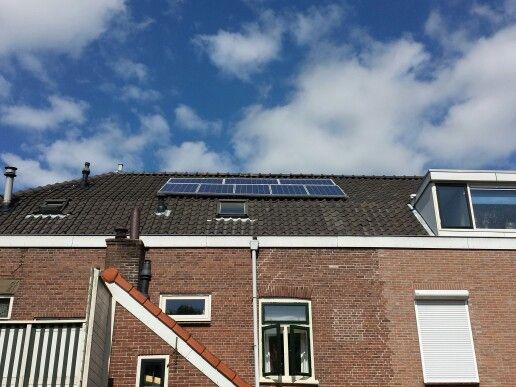 Woerden, 8 zonnepalen, 1500 wp, met valkbox en enphase micro omvormers