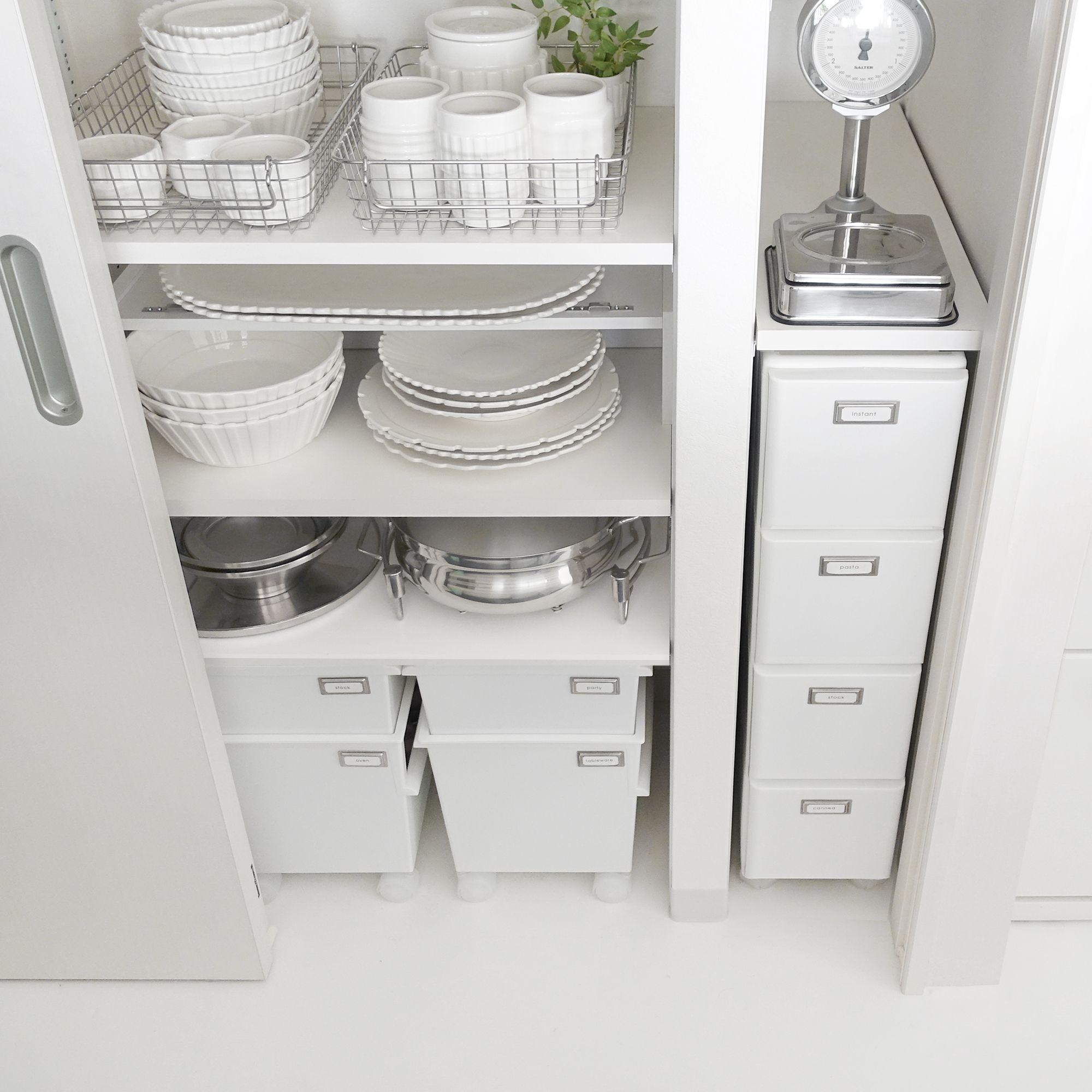 キッチン収納 食器棚の中身も衣替え 使いにくい場所の使い方