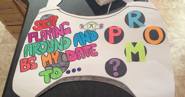 Xbox promposal! #promposals #prom   Prom 2017   Pinterest   Prom and Xbox #hocoproposalsideas