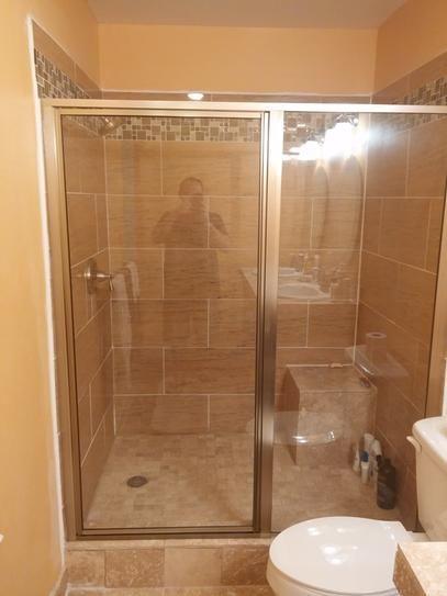 Coastal Shower Doors Legend Series 54 in. x 66 in. Framed Hinge ...