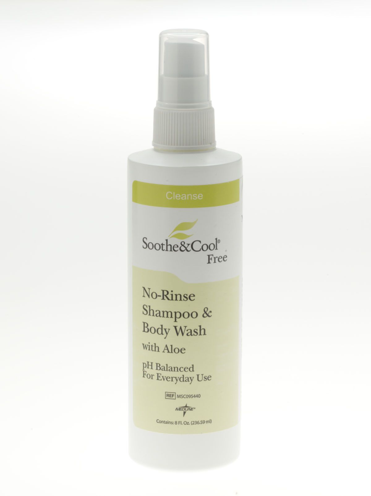 Soothe & Cool Foaming No-Rinse Skin Cleanser 8 OZ, 1 Count Lindi Skin Cooler ROLL (4 x 5)