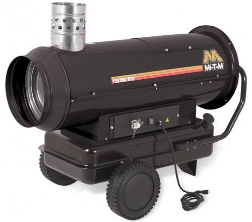 Mi T M Portable Heater Kerosene Indirect Ductable Mh 0125 0mih Heat Output 125 000 Btu Temperature Rise 130 F Max Output Portable Heater Heater Kerosene