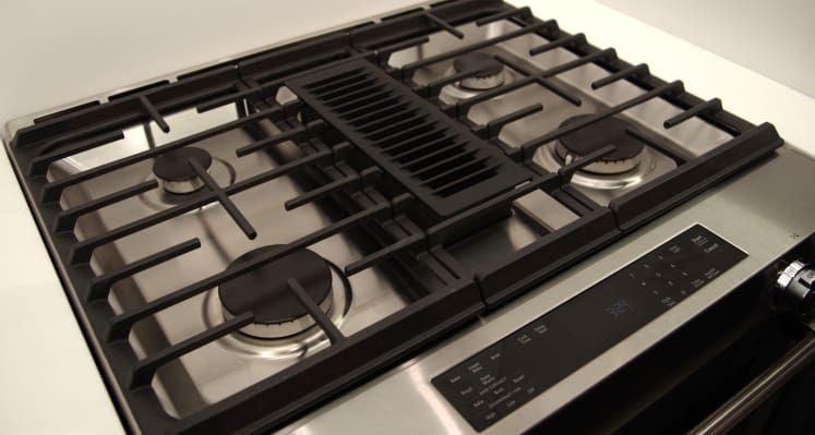 Kitchenaid Ksdg950ess Downdraft Range Cooktop Kitchen Aid Range Cooktop Tv Mount Over Fireplace