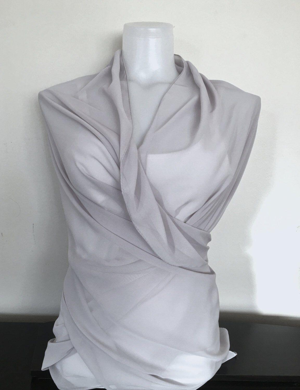 Fashion Women Lady Chiffon Dentelle Écharpe Soft Shawl Neck Warm Wrap Stole