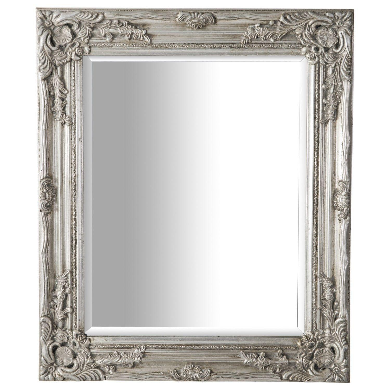 Antique Ornate Mirror Silver Ornate mirror