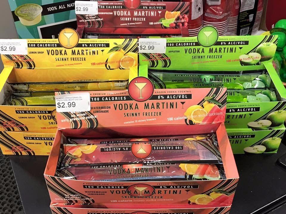 Costco's vodka martini boozy popsicles are back on shelves