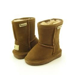 REALLY??????? 72 bucks for baby boots???????@Overstock - Feel the plush comfort of the Bearpaw Emma boots. Features a suede upper that is easy to clean and maintain. Moisture-wicking sheepskin lining envelops your feet in supreme comfort. A cushioned footbed offers both support and shock absorption.http://www.overstock.com/Clothing-Shoes/Bearpaw-Emma-Infant-Brown-Snow-Boots/6353768/product.html?CID=214117 $71.99