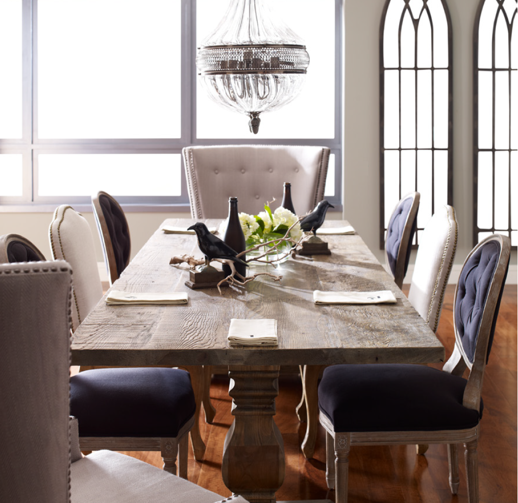 Modern rustic dining room table  reclaimed timber dining tables  Google Search  Ideas for the House