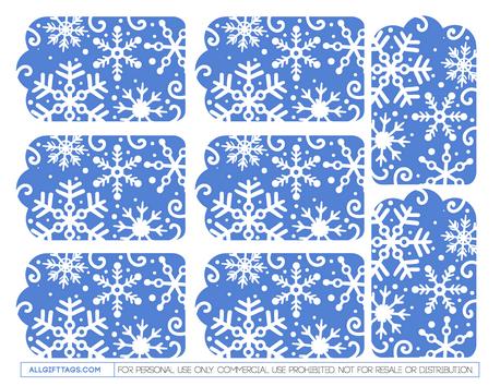 Printable winter gift tags free pdf template to download and printable winter gift tags free pdf template to download and print at http negle Choice Image