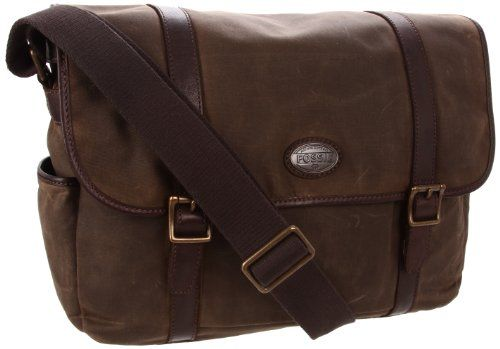 Fossil Estate Wax Canvas Messenger Bag  I have one similar to this in green.  I love Fossil