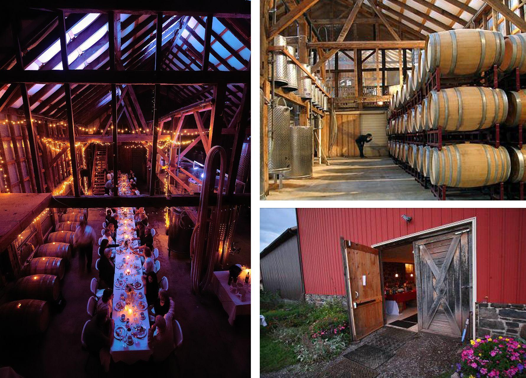Estate weddings in nj - Unionville Vineyards Tank Room Nj Barn Weddings Other Rustic Nj Wedding Venues