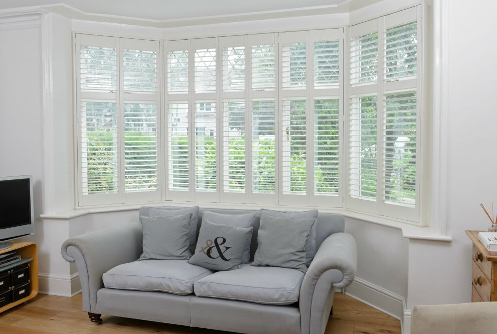 Transform Your Bay Windows With Elegant Window Shutters No More Dusty Curtains And Old Fashioned Netting
