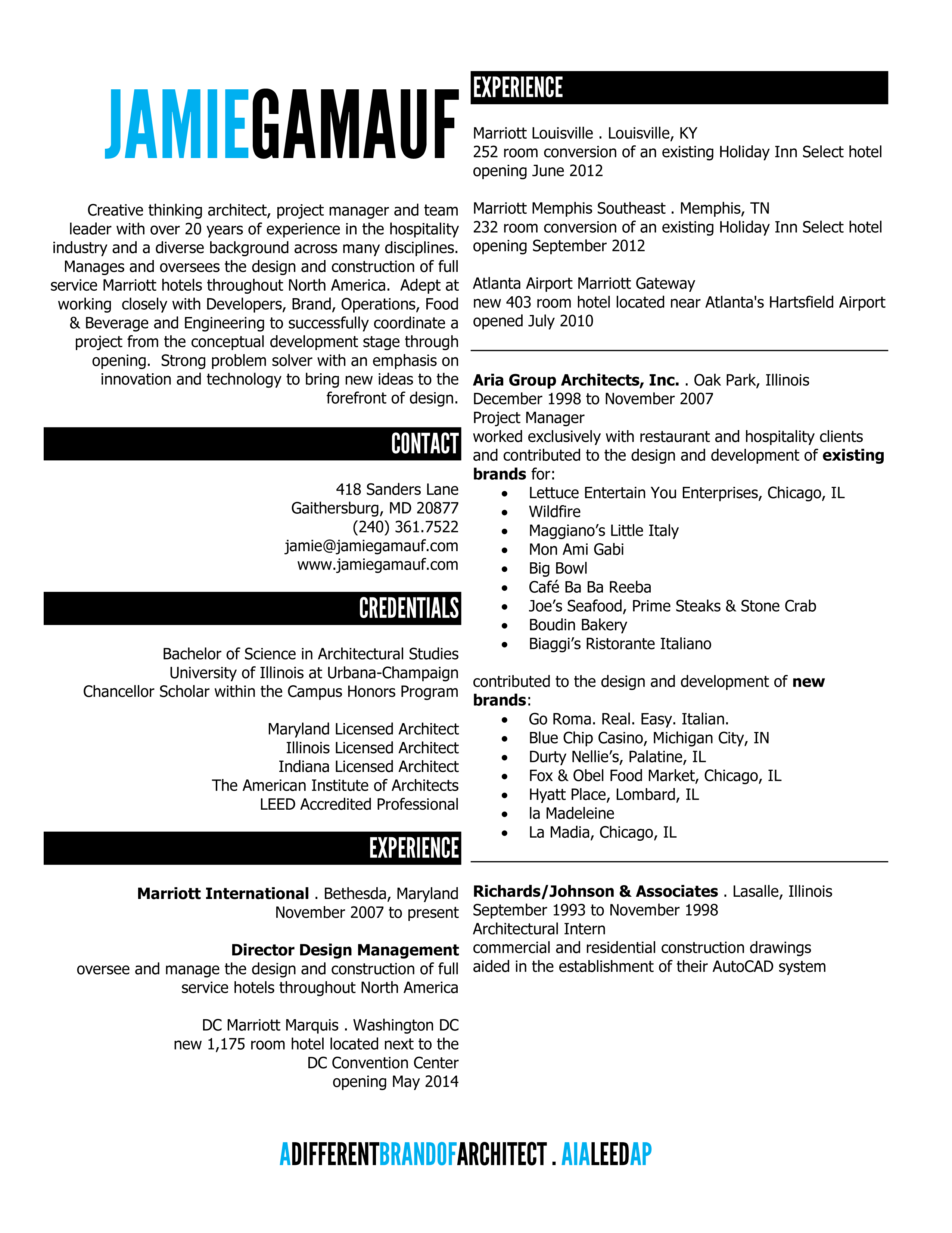 Bartender Resume Template Resume Examples Architecture  Google Search  Portfolio  Pinterest
