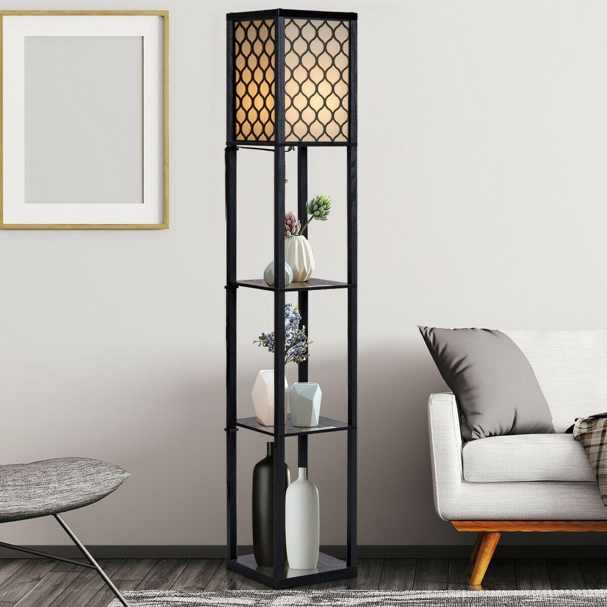 Better Homes And Gardens 3 Shelf Floor Lamp
