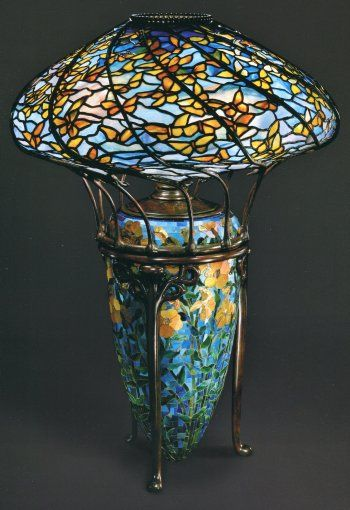 The Lamps Of Louis Comfort Tiffany , By