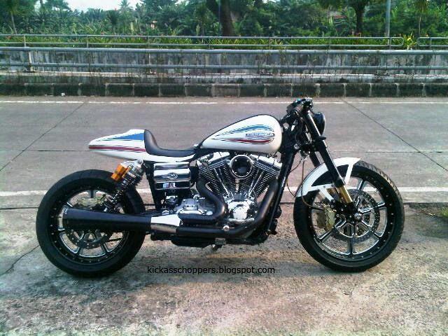 Harley Dyna Cafe Racer