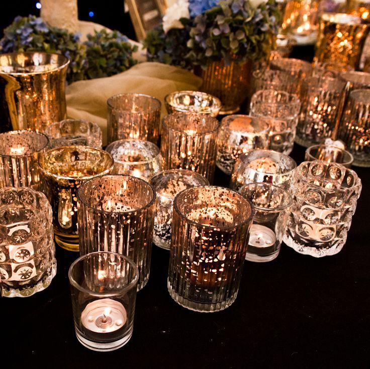 Gatsby-inspired Wedding Decor #artdeco #Gatsbywedding
