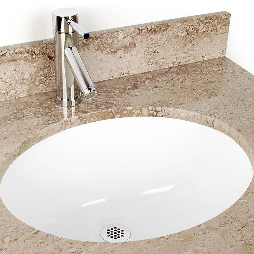 Oval Undermount Bathroom Sink With Images Undermount Bathroom