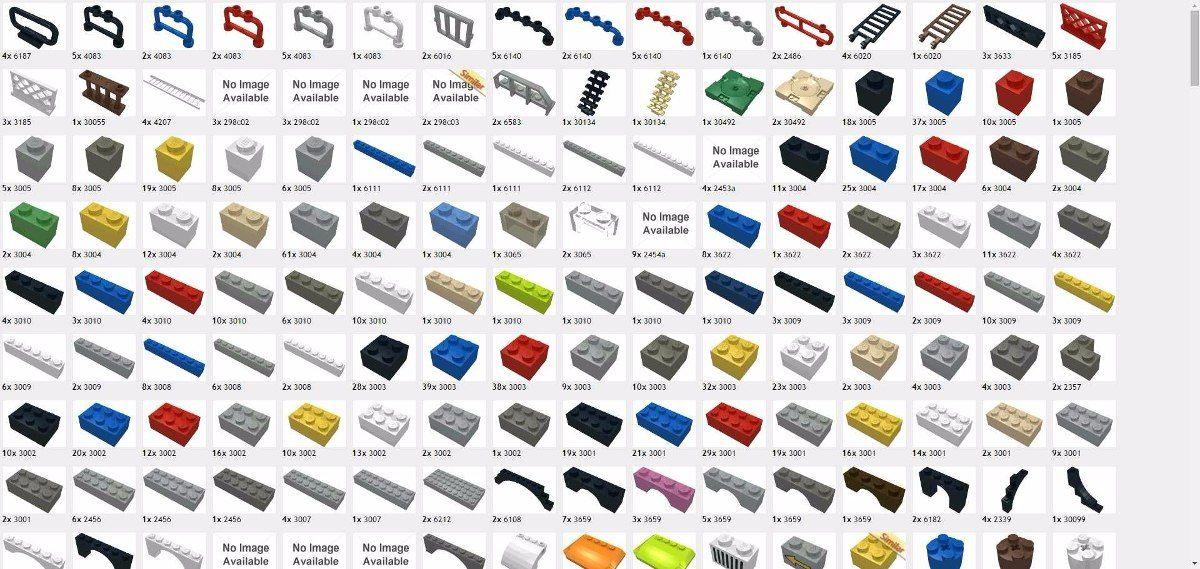 peças lego avulsas - Pesquisa Google