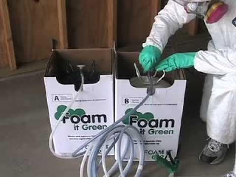 Foam It Green 602 Closed Cell Spray Foam Insulation Kit Foam Insulation Spray Foam Spray Foam Insulation Kits