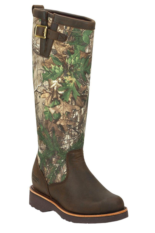Chippewa 15″ Tan Apache Snake Boots