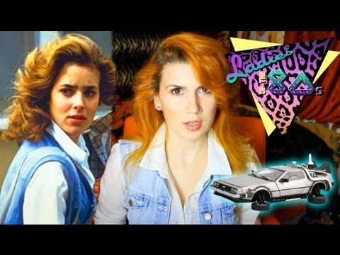 Back To The Future Jennifer Parker Makeup Ladies Of The 80s