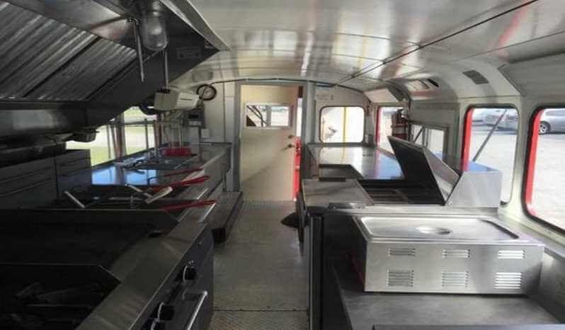 Leyland Double Decker Food Bus Florida Full Transportation Bus