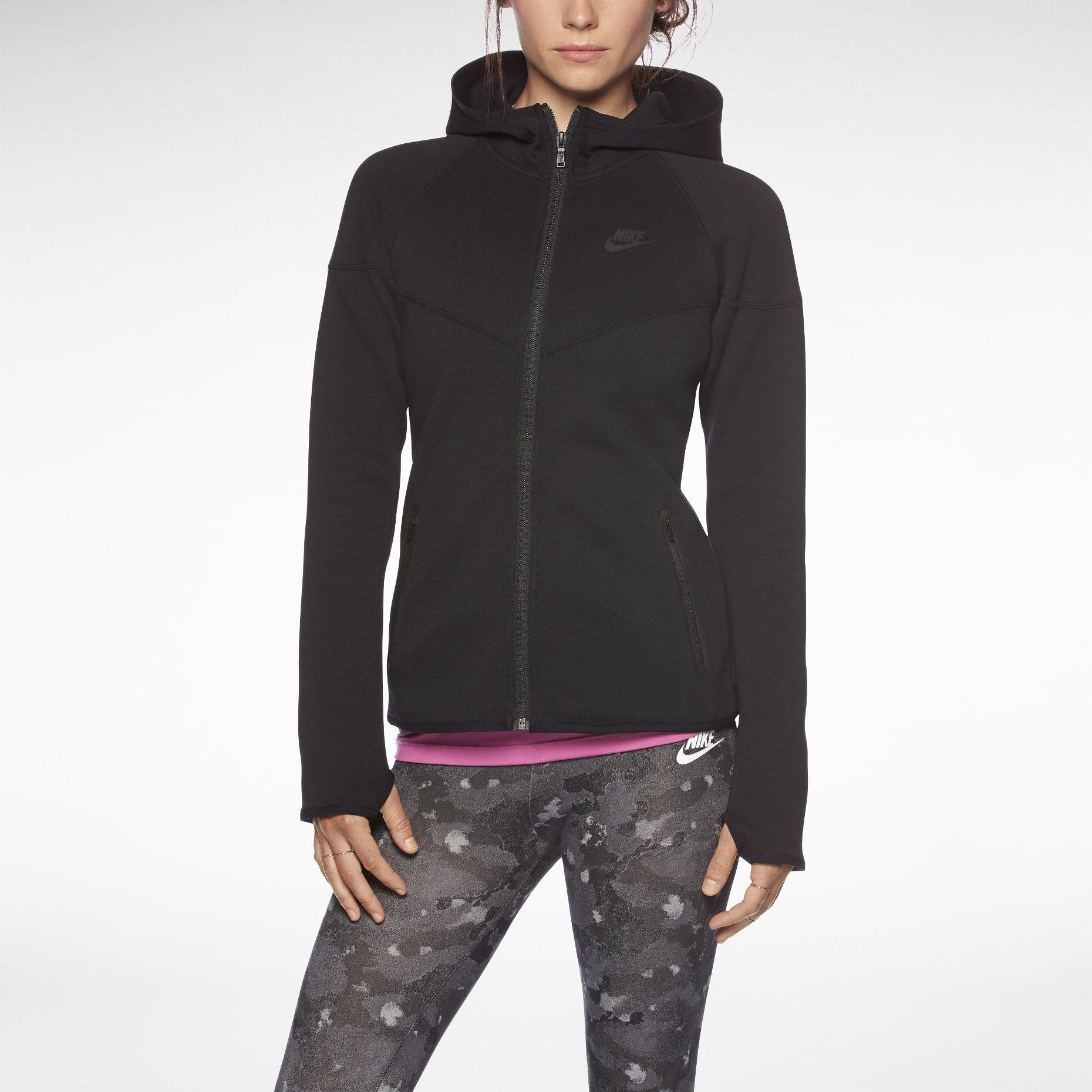 Nike Store. Nike Tech Fleece Windrunner FullZip Women's