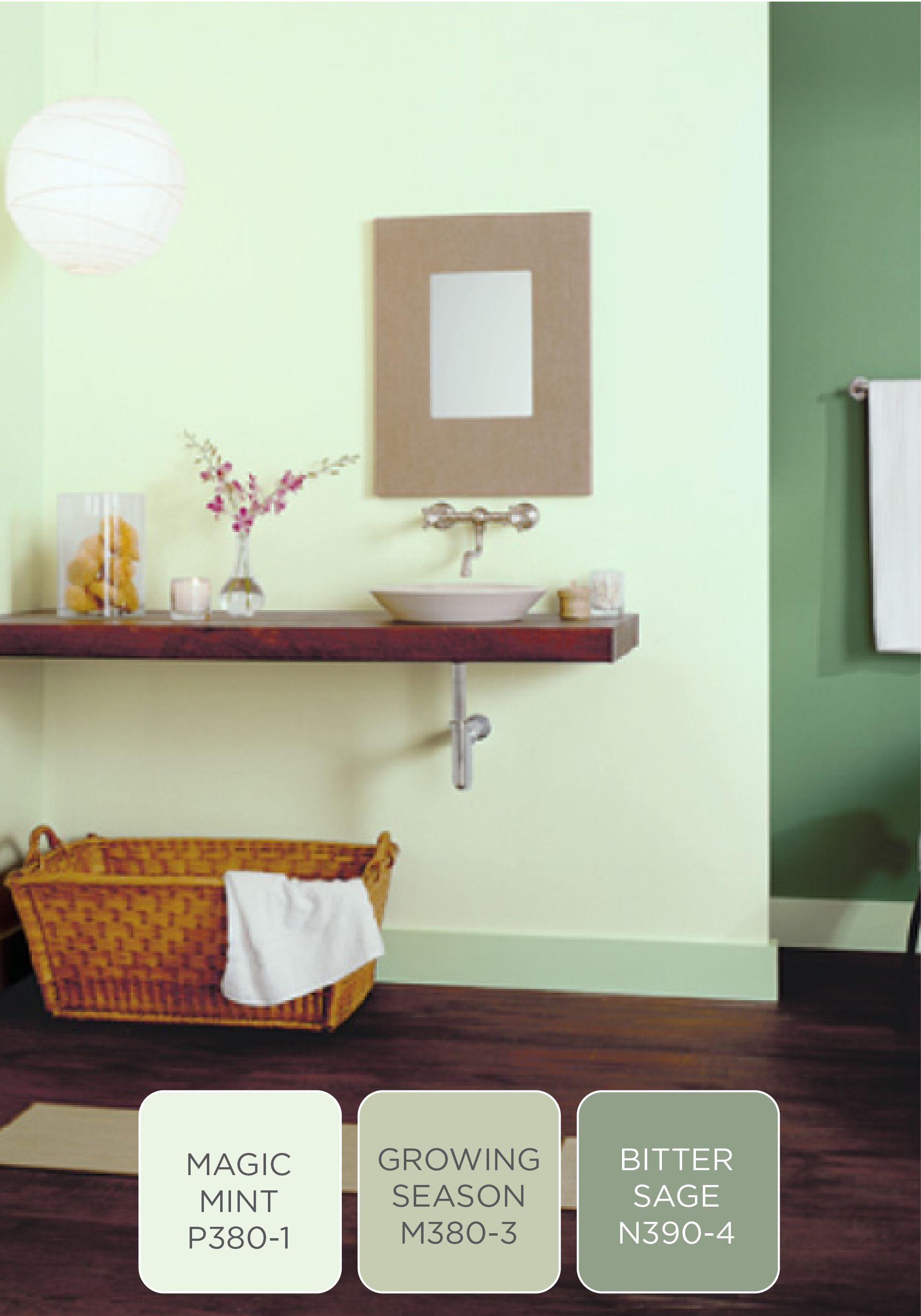 Boys Bathroom. Behr - Chilled Mint   Favorite Places & Spaces ...