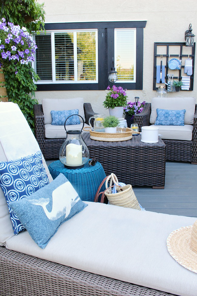 Outdoor Living Summer Patio Decorating Ideas Clean And Scentsible Summer Patio Decor Back Deck Decorating Outdoor Patio Decor