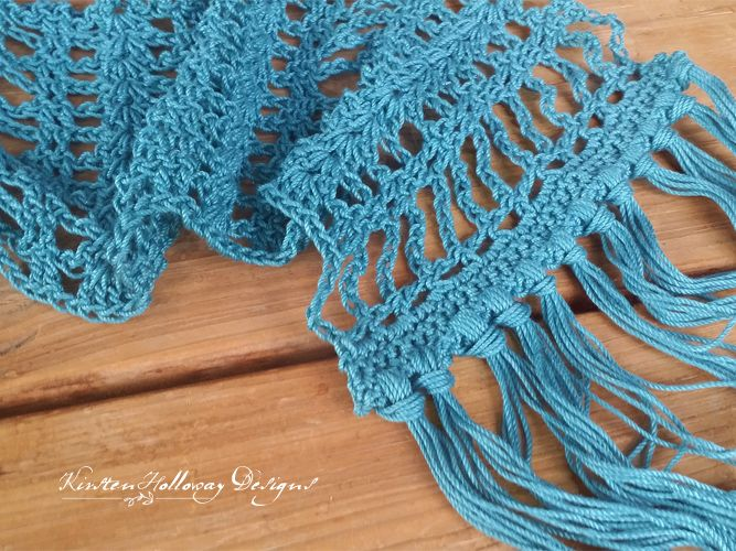 Pattern - Simply Lace Scarf | Pinterest