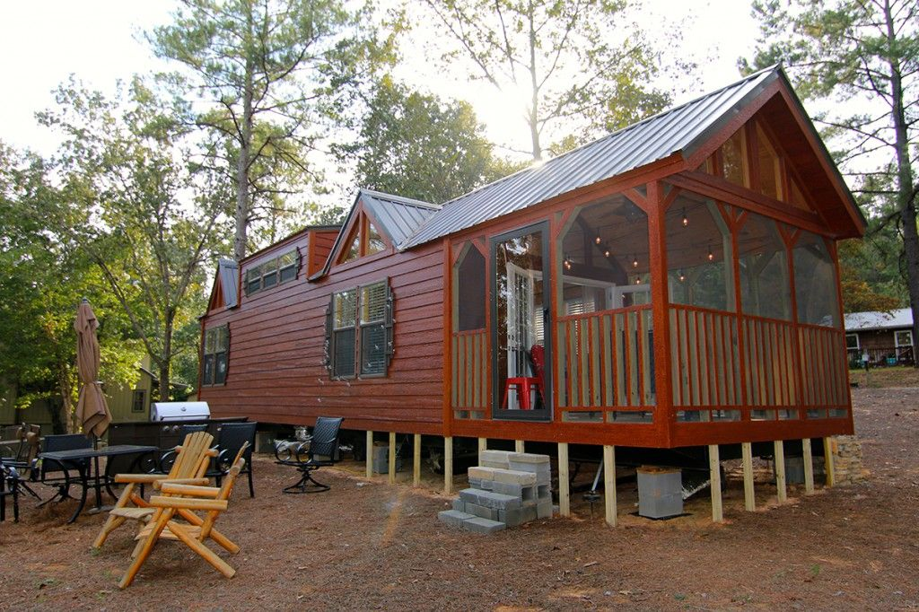 Chattahoochee Tiny cabin, Small house, Park model homes