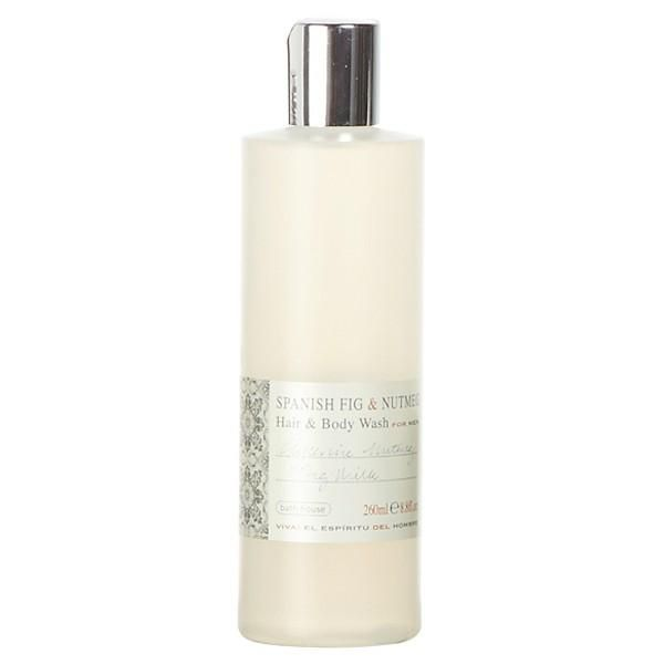Bath House Spanish Fig and Nutmeg Hair & Body Wash - Narborough Hall