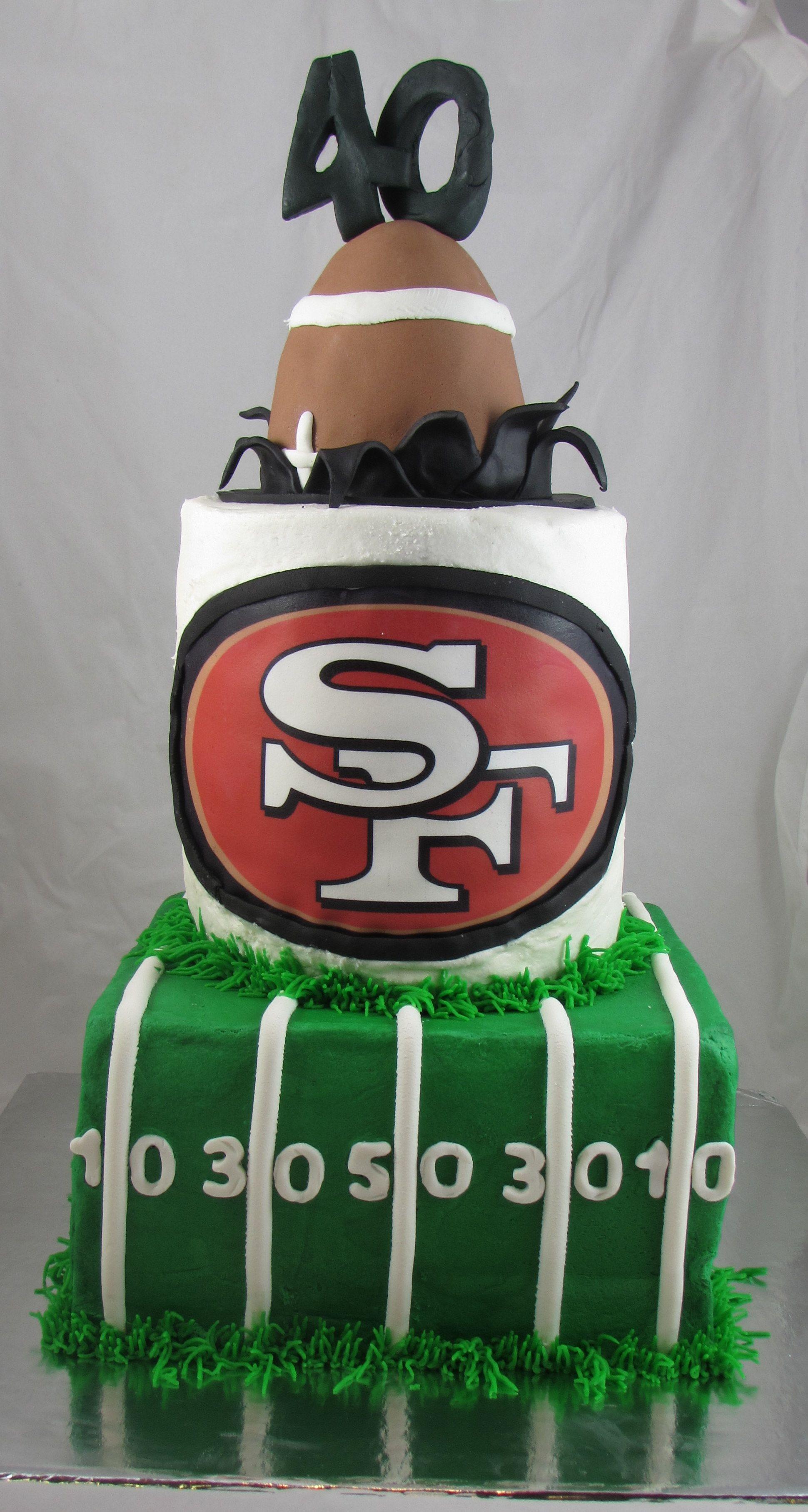 49ers 40th Birthday Cake 40 Party Pinterest 40 Birthday Cakes