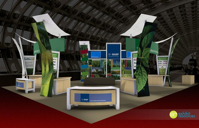 BASF #exhibit | Custom Trade Show Exhibits | Stand design