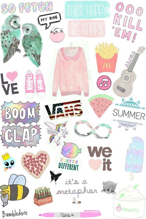 Wallpaper Cute Summer And Tumblr Tumblr Stickers Aesthetic