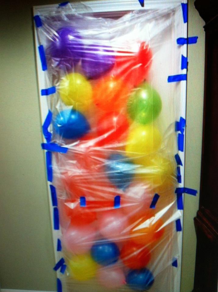 Harmless April Fool S Pranks The Homestead Survival Birthday Morning Kids Birthday Balloon Avalanche
