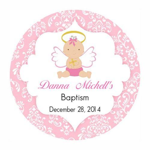 Free Printable Baptism Cupcake Toppers Baptism Girl Cupcake Toppers Printable Tags Baptism