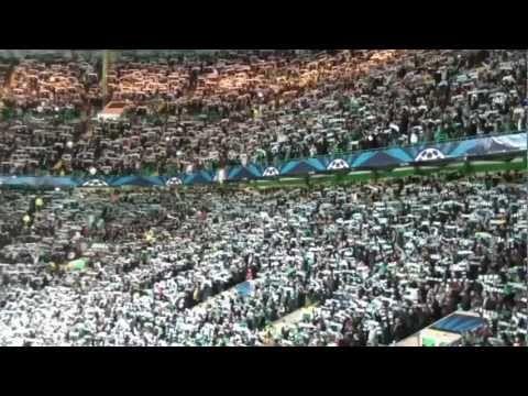 BEST FOTBALL ATMOSPHERE EVER!! - CELTIC vs FC BARCELONA