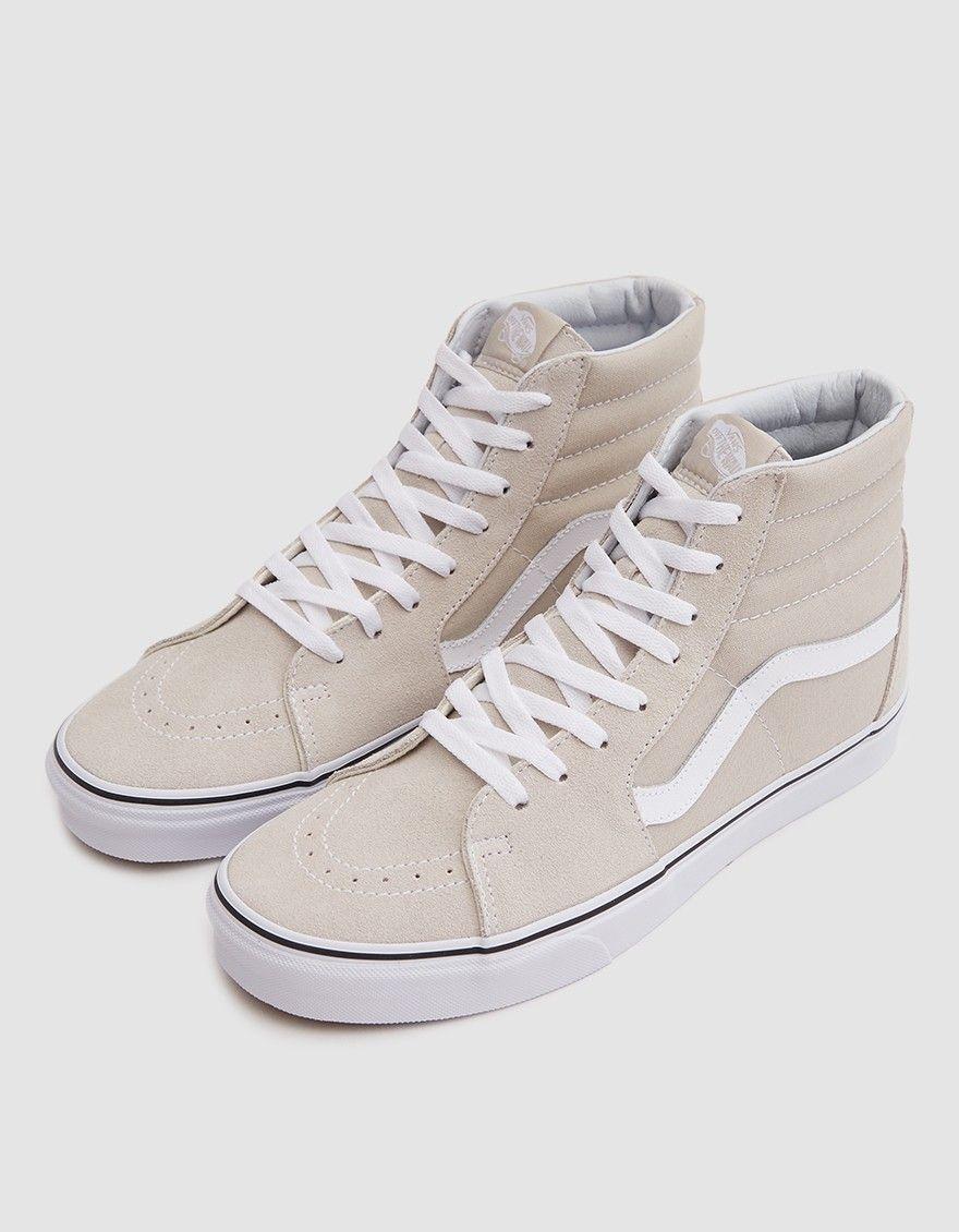 Vans / Sk8-Hi Sneaker in Silver Lining
