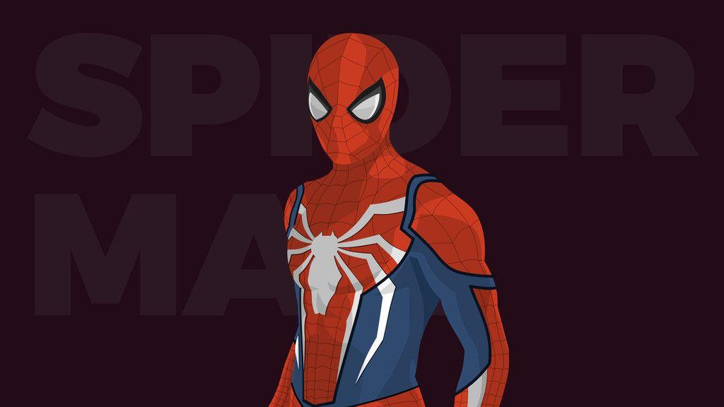 Spiderman Minimal Artwork Wallpaper Spiderman Marvel Wallpaper Guy Pictures