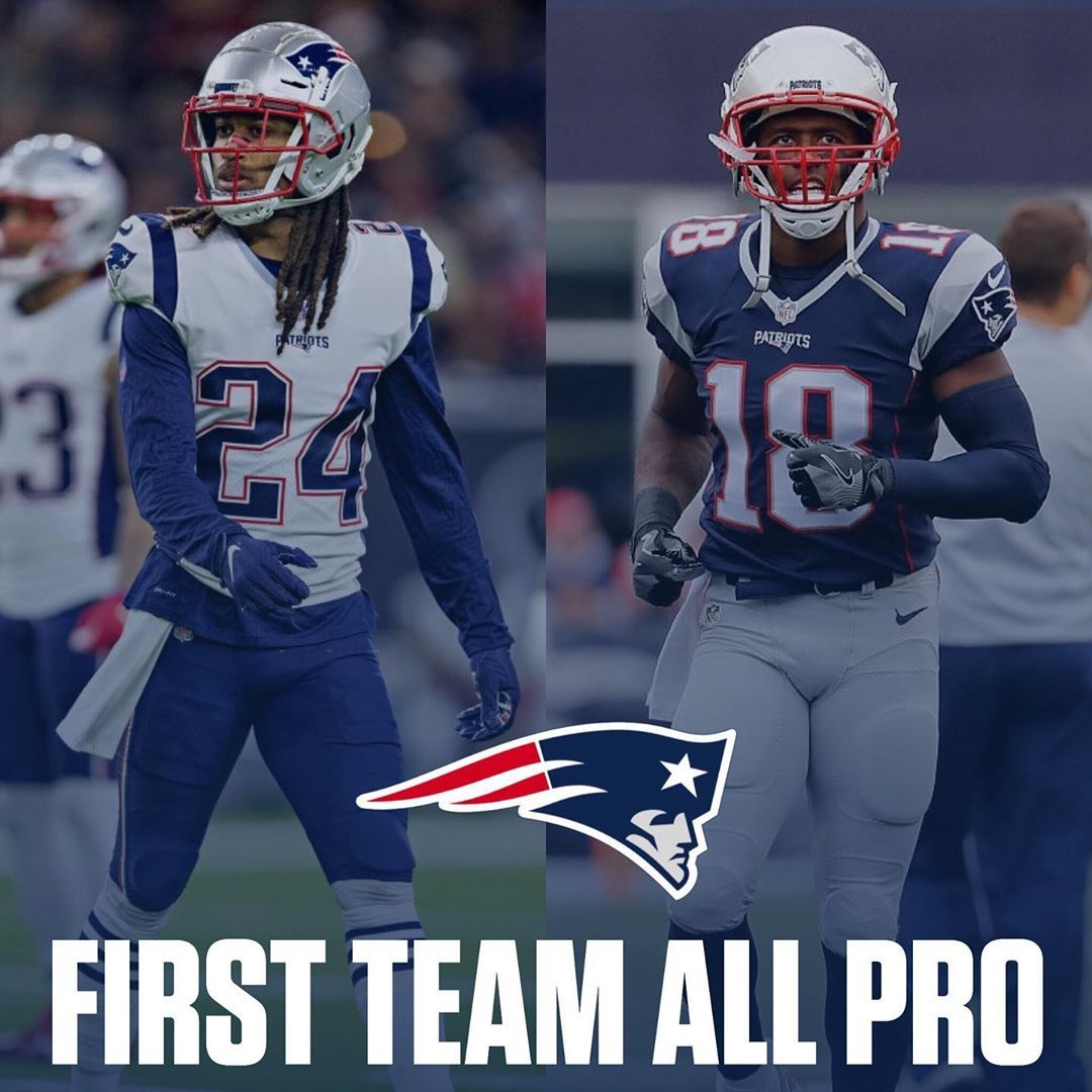Lets Go Congratulations To Stephon Gilmore And Matthew Slater Who Have Been Named To The Ap S First Team In 2020 New England Patriots Players One Team Gronk Patriots